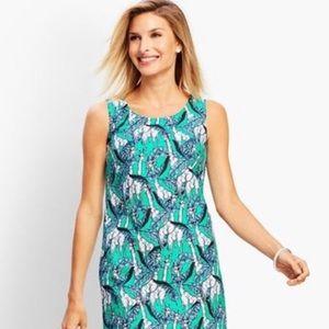 🦒 👗 Talbots Giraffe Dress Size 2P 🦒 👗